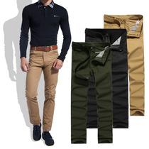 Calça Masculina Jeans Sarja Colorida Slin Fit 38 Ao 62