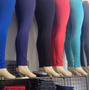 Kit 3 Calça Legging Suplex Lisas Fitness Revenda Atacado