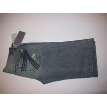 Bermuda Jeans Destroyed 7 For All Mankind Tamanho 36