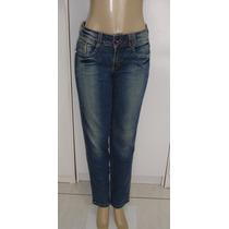 Calça Jeans Fem.marca Retook Tam.42 C/ Strech Semi Nova