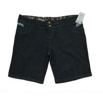Bermuda Jeans Lycra Feminina - Tamanho Grande - 54 56 58 60