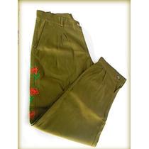 42- Bombacha Feminina Com Bordado (calça)
