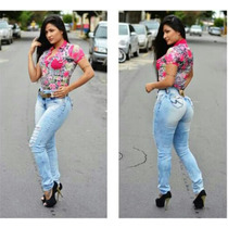 Calça Jeans Destroyed Rhero