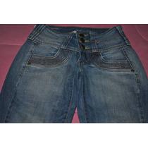 Calça Jeans Skinny C/ Elastano Feminina Tam 36 Semi-nova!!!