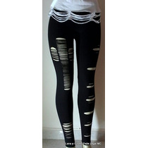 Leggings Customizadas Rasgadas Ou C/ Spikes!!!!