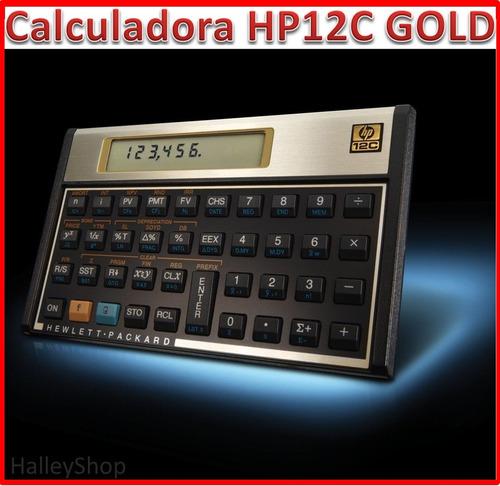 Calculadora Financeira Hp12c Gold Original Lacrada Português
