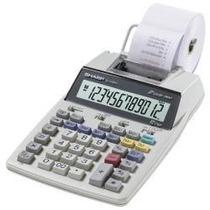 Calculadora Sharp C/ Bobina El-1750 Impressão Em Duas Cores