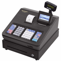 Caixa Registradora Sharp Xe A207 A23s Registra Nome Produtos
