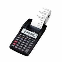 Calculadora Casio Com Impressao Hr-8tm-bk 12 Digitos