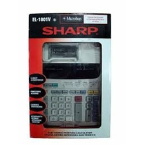 Calculadora De Mesa Sharp El-1801v - Com Bobina - Original