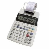 Calculadora De Mesa Sharp El 1750v Com Bobina Oferta