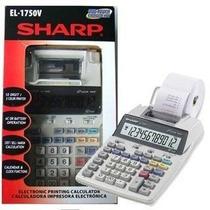 Calculadora De Mesa Com Bobina Sharp 1750v(frete Grátis)