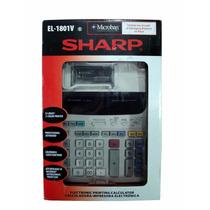 Calculadora Sharp El-1801v (127v) 2 Cores C/ Nota Fiscal