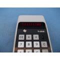 Calculadora Antiga Texas Ti-2510 Led Funcionando Rara!