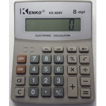 Calculadora Kenko (mesa) Kk-808v 08dig - Tam 141x109x23