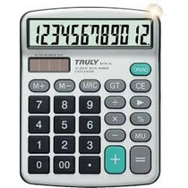 Calculadora Truly 837a-12 Digitos