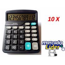 10 Calculadora Eletronica 12 Digitos Kk - 837c Atacado