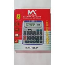 10 Calculadora Eletronica 8 Digitos Max-8902a Atacado