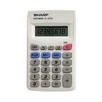 Calculadora Básica 8 Dígitos Sharp El233sbk