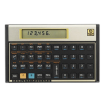Calculadora Financeira Hp 12c Gold Original