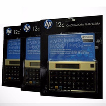 Calculadora Financeira Hp 12c Gold Original - Pronta Entrega
