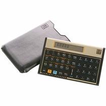 Calculadora Financeira Hp 12c Gold Manual Português + Capa