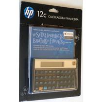 Calculadora Financeira Hp 12c Gold Português Lacrada