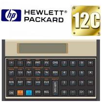 Calculadora Financeira Hp 12c Gold Original + Frete Grátis
