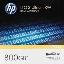 Fita Back-up Lto-3 Hp Ultrium 800gb Novo E Lacrado (c7973a)