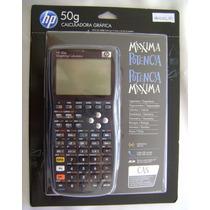 Calculadora Gráfica Hp 50g Com Nota E Capa Melhor Preço !!