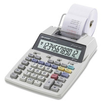 Calculadora Sharp De Mesa El-1750v 12 Digital Bobina - Bivol
