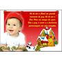 50 Cartão De Natal Personalizado Bebê Familia Empresa