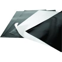 50 Folhas Ima Magnética Adesivo 0,3mm + 30 Ima Neutra A4 0,3