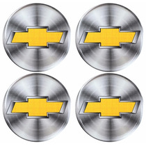 Jogo De Botons Chevrolet Gm Calota Ou Roda 68mm Dacar Parts