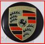 Emblema Adesivo Calota Miolo Tampa Roda Porsche 51mm - 1 Pç