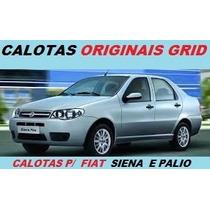 Calotas Aro 13 (04 Pçs) P/ Fiat Palio, Siena / Original Grid