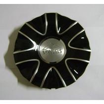 Calota Centro De Roda Mangels Motore Preta, 9260