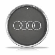 Calota Centro Miolo Roda Esportiva Audi A3 Cromada