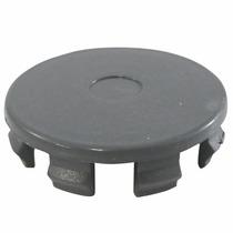 Calotinha Centro De Roda Ferraro Noova 50mm Cinza