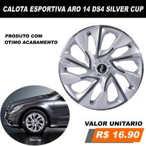 Calota Aro 14 Esportiva Peugeot Hoggar 206 E 207 Automotiva