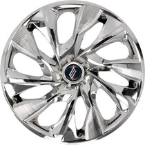 Calota Esportiva Aro 14 Ds4 Chrome Automotiva Carro ( Jogo )