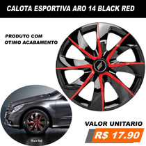 Calota Esportiva Corsa Prisma Onix Meriva Montana Aro 14