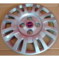 Jogo De Calotas Aro 13 P/ Fiat Uno Mille ( Frete Gratis )