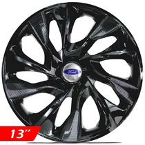 Calota Aro 13 Black Esportiva Ds4 Ford Ka Fiesta Focus Escor