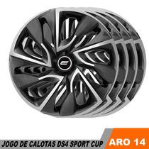 Calota Gm Prisma Onix Celta Cobalt Aro 14 Esportiva Jogo