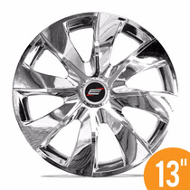 Jg Calota Esportiva 13 Prime Cromada Fiat Ford Gm Renault Vw