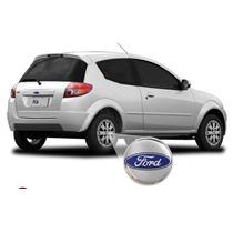 Calotas Aro 13 ( 04 Peças )p/ Ford Ká,fiesta + Emblemas Ford