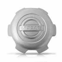 Calota Centro De Roda Nissan Frontier Prata