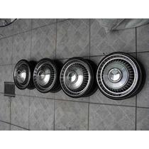 Impala Ss - Calotas Em Aco Inox Originais Chevrolet -
