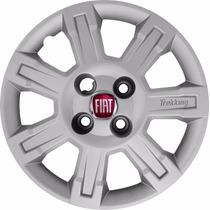 Calota Fiat Strada Trekking Aro 14 Lançamento 2010 Nova!!!!!
